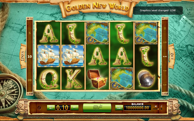 Golden New World