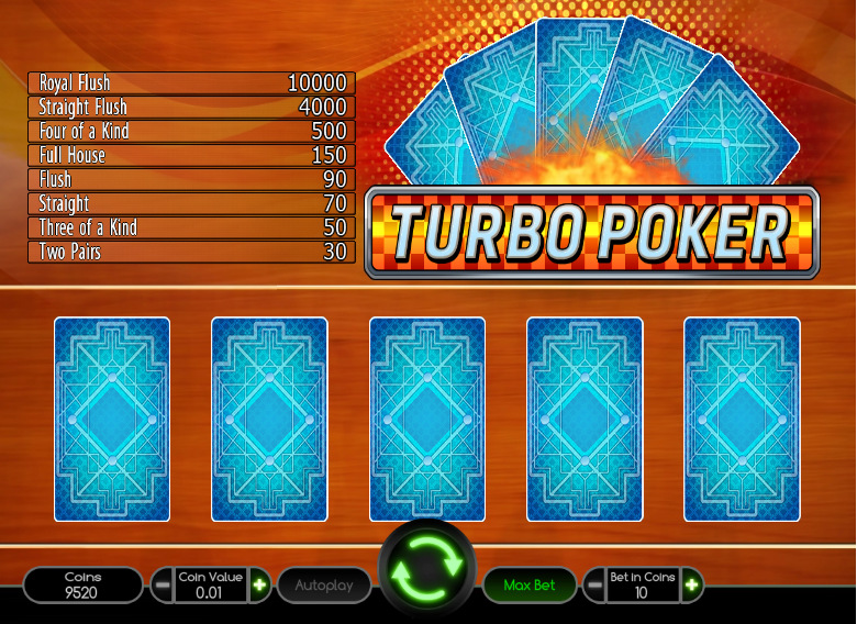 Turbo Poker